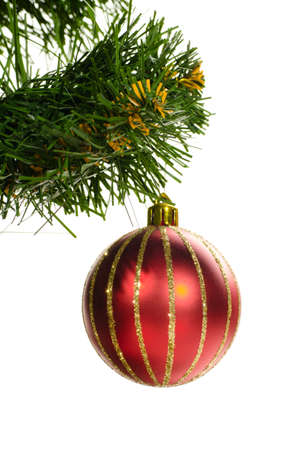 decorated christmas tree Stock Photo - 10891322