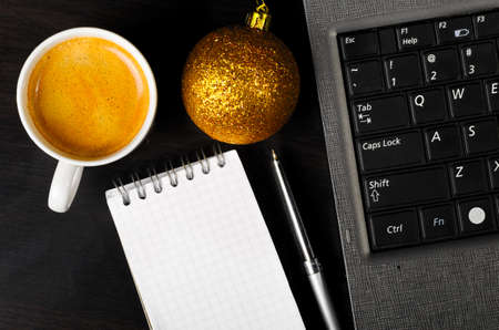 office party: new year eve Stock Photo