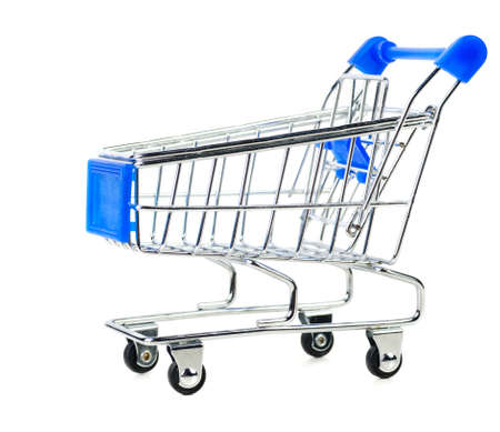 empty shopping cart Stock Photo - 11046381