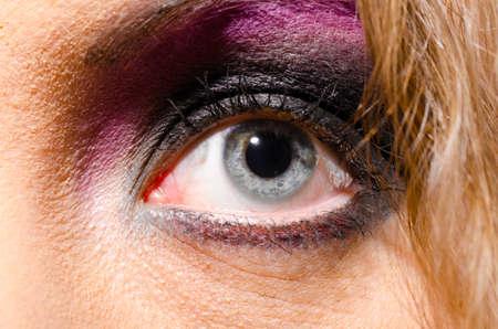 glam rock: glam rock woman