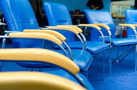 business training chairs photo