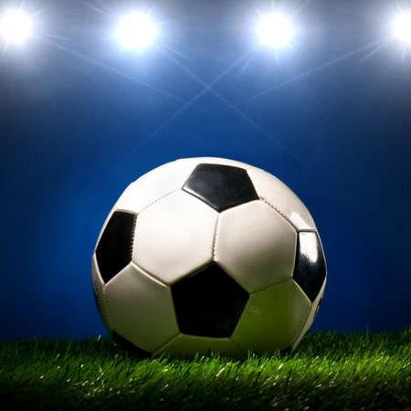 ballon foot: un ballon de soccer
