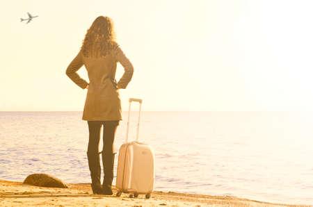 travel bag: at sea in winter