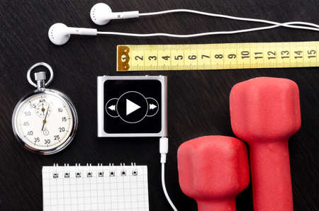 dumbell: Sport objects