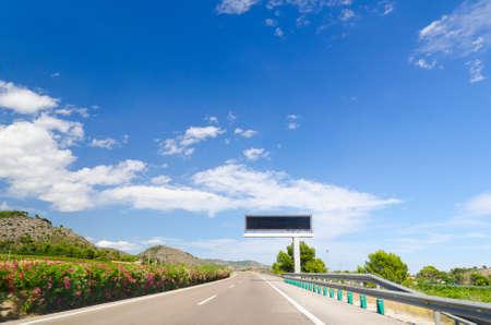 kerb: highway road