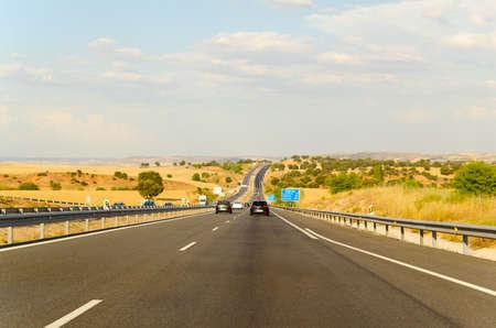 toll: highway road