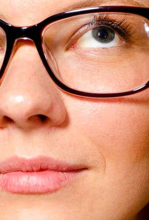 beautiful female face photo