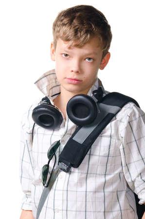 music education: teenager Stock Photo