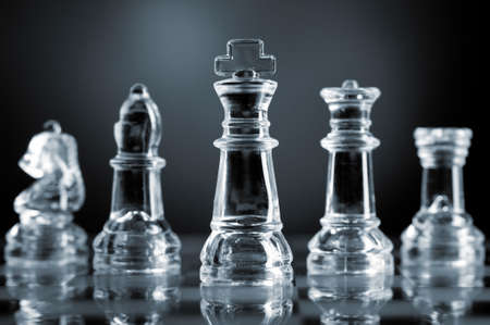 bishop chess piece: chess pieces Stock Photo