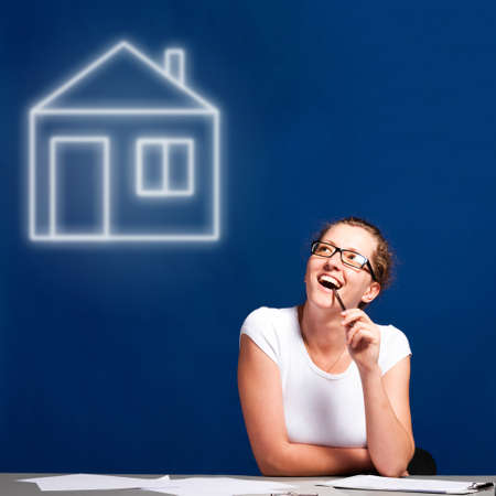 dream house Stock Photo - 13799679