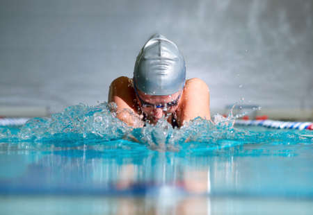 swimming competition: breaststroke