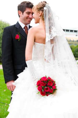 bruiloft portret