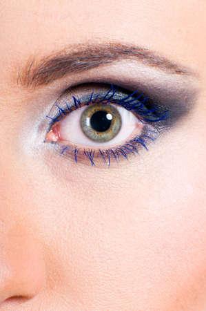 female eye macro Stock Photo - 13799952