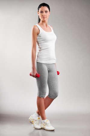sporty woman photo