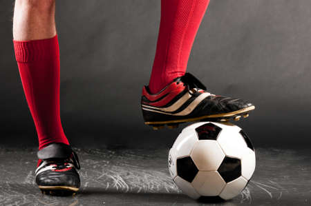 legs of soccer player Stock Photo - 13820511