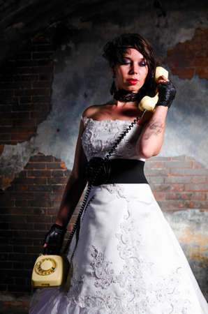 trashed: trash the dress woman