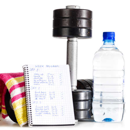 pesas: objetos deportivos