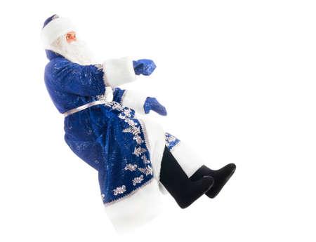 niewidoczny: Święty Mikołaj na niewidzialnego samochodu
