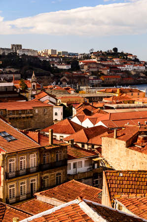 city roofs at Porto, Portugal photo