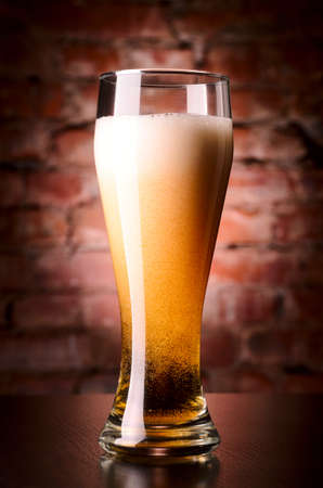 glass of lager photo