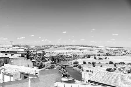 view at sunny day at Toledo, Madrid, Spain photo