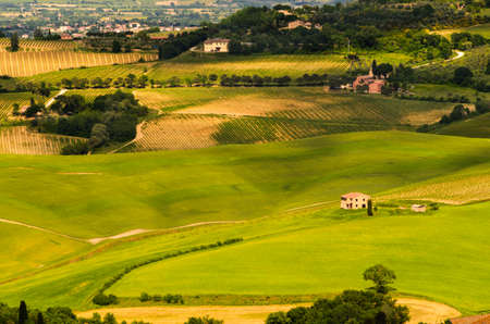toscana: Tuscany landscape view, Toscana, Italy Stock Photo