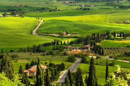 agriturismo: Tuscany landscape, Toscana, Italy