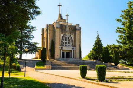 guimaraes: Monte de Santa Catarina or Montanha da Penha church, Guimaraes, Portugal