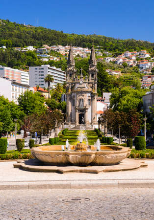 senhora: church Igreja de Nossa Senhora da Oliveira, Guimaraes, Portugal