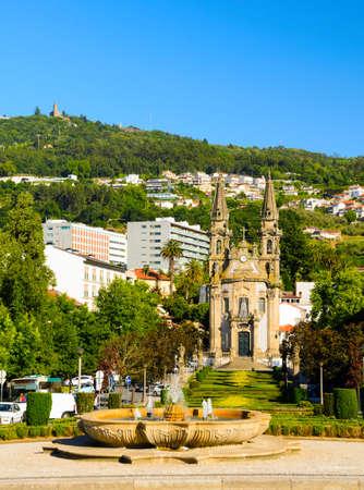 guimaraes: church Igreja de Nossa Senhora da Oliveira, Guimaraes, Portugal