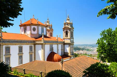 jezus: Bom Jesus do Monte, sanktuarium w Tenoes, Braga, Portugalia