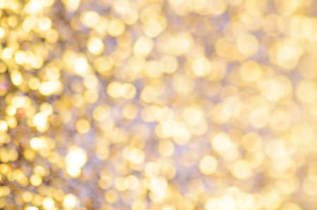 macro photography: abstract golden glitter christmas background, macro photography