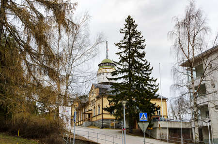 suomi: Water tower Naisvuori in Mikkeli, Finland