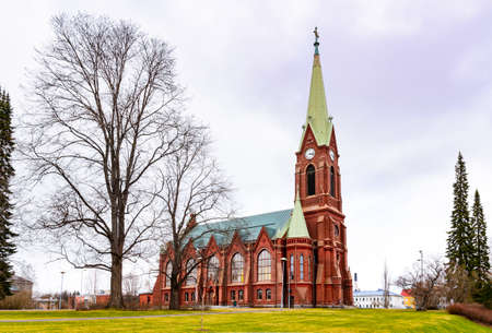 suomi: Mikkeli cathedral view, Eastern Finland