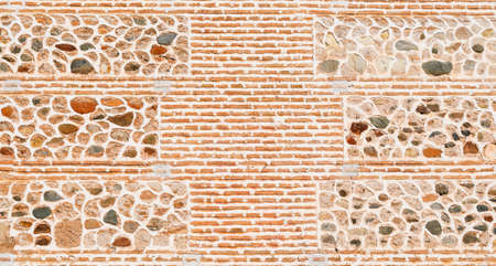 Texture of Alhambra buildings wall, Granada, Spain
