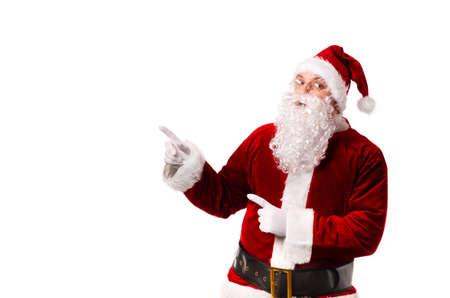Santa Claus isolated on white background