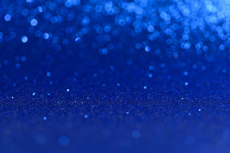 Blue Christmas or New Year festive background
