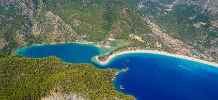 oludeniz: View from paraglider. Oludeniz