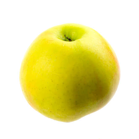 Green apple isolated on the white background Stock Photo