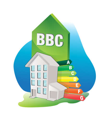 BBC - batiment basse consommation Illustration