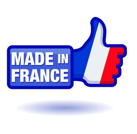 i label: flag   made in france
