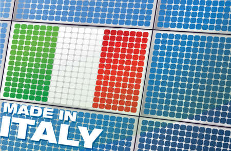 divergence: solar panel - made in italy