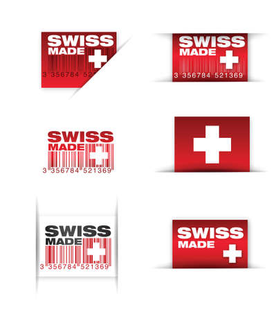 manufacturing   swiss made Stock Vector - 16385120