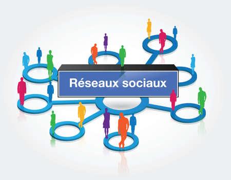 social media Stock Vector - 16643916