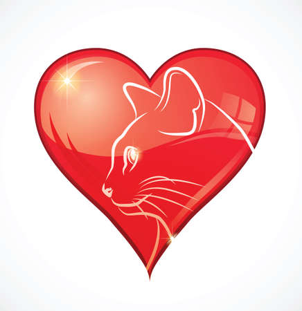 i love cats Vector