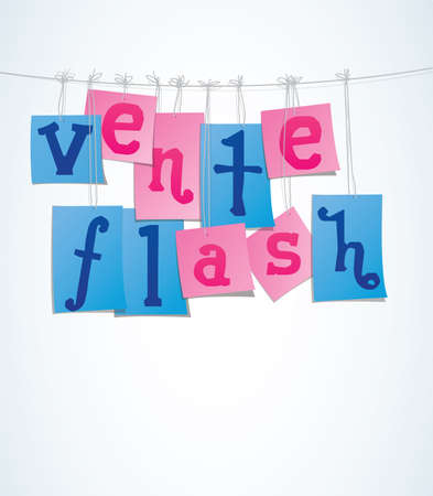 Commerce - Retail   Sale  _ FLASH SALE Vector