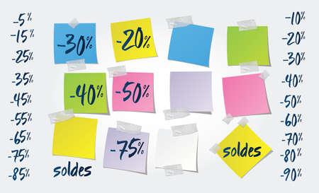 Commerce - Retail   Sale   post-it