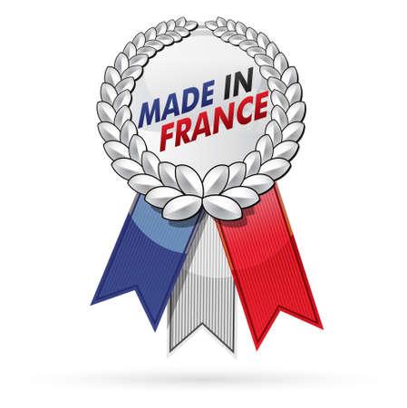 francia: producto, fabricado en Francia Vectores