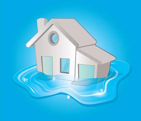 flood Stock Vector - 17253910