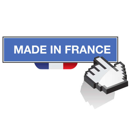 made in france - fabriqu&eacute, en france Vector